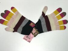 Juicy Couture New Girls Kids WOOL RAINBOW & PUPPY GLOVES Sz: O/S RTL: $38 R390