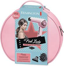 Remington Bombshell Pink Retro Hair Dryer Set Pink