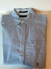 Vtg. Tommy Hilfiger Men's Business Casual Button Front Shirt Long Sleeve Size L