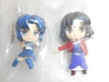 "Free Shipping Melty Blood Kara no Kyokai 2"" Minifigure 2pcs Authentic JP k#14131"