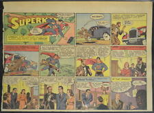 SUPERMAN SUNDAY COMIC STRIP #21 Mar 24, 1940 2/3 FULL Page DC Comics RARE
