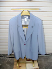 Women's Da-Rue of california 24W slate colored jacket.