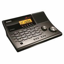 Bearcat Scanner Police Radio Clock FM Broadcast 500 Channels 10 Banks Weather