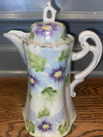 Vintage Porcelain Hand Painted Pitcher Made In Japan