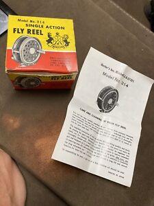 vintage Herter's fly reel #314  original box