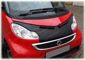 Car Hood Bra fits Smart Fortwo W451 2007-2014 Bonnet Mask Auto-Bra Tuning
