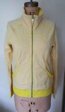 Lululemon Blissed Out jacket sizzle yellow  zip up light jacket top 6
