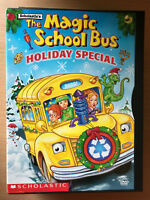 THE MAGIC SCHOOL BUS ~ Holiday Special ~ 2002 Animation Rare Region 1 US DVD