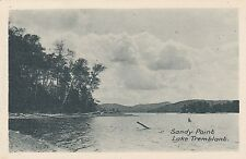 "Sandy Point MONT TREMBLANT Laurentides Quebec 1930s ""Lake Breeze"" Advertising"