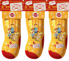 Pedigree Christmas Stockings for Dogs Xmas Treats for Puppies x 3 Stockings