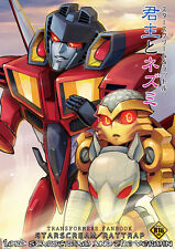 Doujinshi Transformers yaoi STARSCREAM x RATTRAP (42pages) INK LORD STARSCREAM