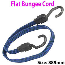 889mm Flat Bungee Cord/Band – Elastic Luggage Rope Straps – Car/Bike Tie Stretch