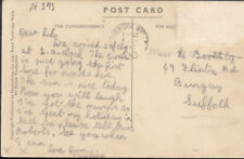 Suffolk Posted Printed Collectable Social History Postcards