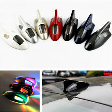 Solar Car SUV Anti Collision Warning Light 6LED Shark Fin Decorative Strobe Lamp