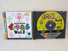 Sega Saturn INTERNET Vol 1 SegaSaturn ss Japanese ver.