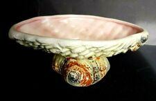Vintage SylvaC Shell Pedestal Planter / Vase - Model #3534 - 23 cm across
