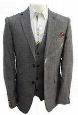 Two Button Blazers Polyester Suits & Tailoring for Men