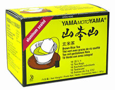1 pack of YamaMotoYama Aluminium Sealed Genmaicha Brown Rice Tea 48g 16 teabags