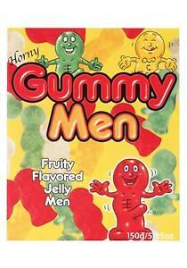 Horny Gummy Men Fruit Flavor Candy Pride Party Bachellorette Shower Gag Gift 4oz