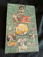 1992 Fleer Ultra Series 1 Baseball Factory Sealed Box Of 36 Foil Packs Ken