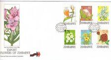 Zimbabwean Flowers African Stamps
