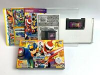 "ROCKMAN EXE 5 Team of Blues With ""Dark sword"" Nintendo Gameboy Advance GBA JAPAN"