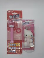 Pez Hello Kitty Candy Dispenser And Keychain