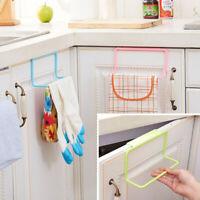 1Pc Kitchen Toilet Cabinet Door Towel Sundries Storage Single Trivet Rack Holder