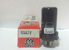 1 GE   6SA7 Y Metal Vacuum Tube Tested New On Calibrated Hickok