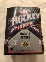 Upper Deck 1990-91 NHL Hockey High # Series - Factory Sealed Set