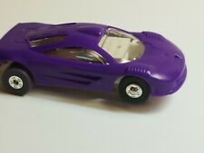 Dash purple McLaren tjet w/ autoworld white chassis .....FAST