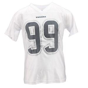 Houston Texans Official NFL Apparel Girls Youth Size J.J. Watt Jersey New Tags