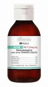 Bielenda Dr Medica Dermatological Anti Acne Liquid Tonic for Face Cleavage 250ml