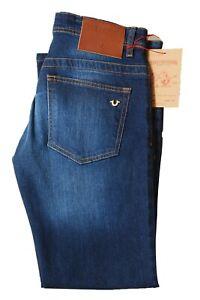 Men True Religion Slim-fit soft denim stretch Jeans W32 to 34, L32