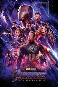Avengers: Endgame Poster One Sheet 61 x 91,5 cm Plakat Wandbild Wanddeko Deko