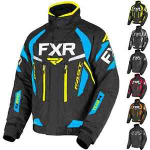 FXR Racing F19 Team FX Mens S, M, L, XL, 2X Snowmobile Jacket
