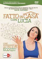 Fatto in Casa Con Lucia Cuffaro Come Risparmiare per uno stile di vita Eco DVD