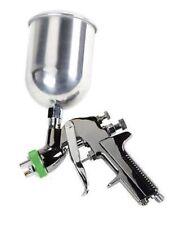 Hvlp Gravity Feed Top Air Fed Paint Spray Spraying Gun Sprayer Tool W/3 Nozzles