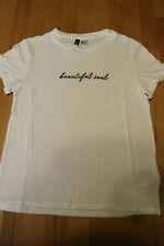H&M ღღ T-Shirt Gr. XS (152/158) ღღ weiß & Motiv ღღ