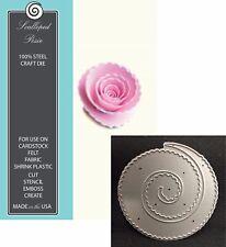 Memory Box Dies SCALLOPED POSIE 98269 Rolled Flower Die All Occasion Wedding