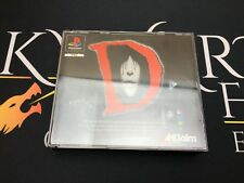 D, acclaim - Sony Playstation 1 (TESTED/WORKING) UK PAL Survival Horror