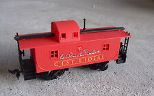 HO Scale President's Choice Red Caboose Car