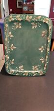VINTAGE MID-CENTURY SERVING TRAY LAP TV METAL RETRO painted tole