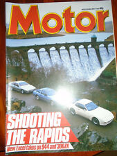Motor 4/5/85 Lotus Excel vs Porsche 944 vs Nissan 300ZX Turbo