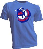 TORONTO TOROS Defunct Old Time WHA Hockey Retro Blue T-SHIRT NEW Tee Handmade