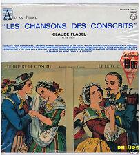 LP CLAUDE FLAGEL (VIELLE) LES CHANSONS DES CONSCRITS