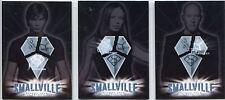 Smallville Season 4 Complete Kryptonian Symbols Chase Card Set BL1-3