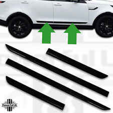 Door Strip for Discovery 5 Body Side Moulding Rubbing Strips Gloss Black protect