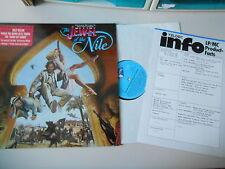 LP OST Jewel On The Nile / Auf der Jagd n/d Juwel (10 Song) TELDEC JIVE Presskit