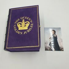 THE QUEENS GOLDEN JUBILEE WOODEN JIGSAW PUZZLE USED GOOD CONDITION (W1)